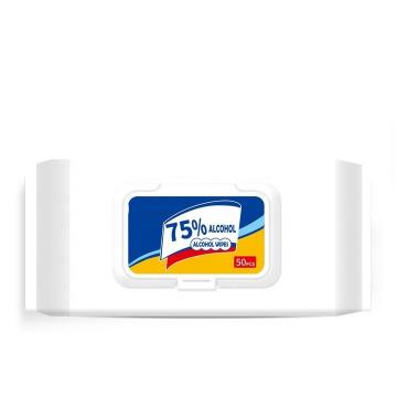99.99% Antibacterial Mini Hand Wet Wipes with 75% Alcohol