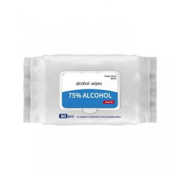 Anti-Virus Mini Size Sanitary Wipes Convenient Use with 75% Alcohol (GPSW-001)