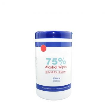 Custom 50Pcs Disinfection Alcohol Wipes 75% Alcohol Wipes Adults Used Wipes Alcohol