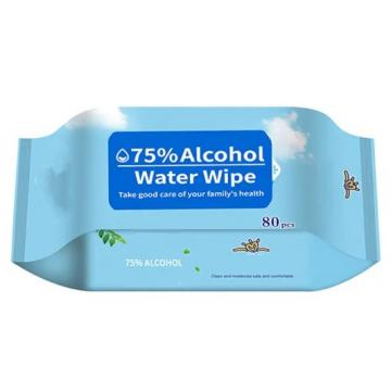 Antibacterial Wipes Barrel Non-woven Wipes 75% Alcohol/ Ethyl/ Ethanol Sanitizing Wet Wipes