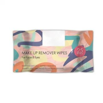 Wholesale Private Label Makeup Remover Facial Cleaning Wipe