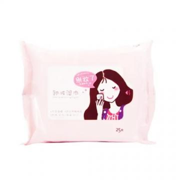 Wholesale Organic The Best Custom Logo Private Label Cosmetic Cleansing Beauty Oil Free Makeup Remover Wet Wipe