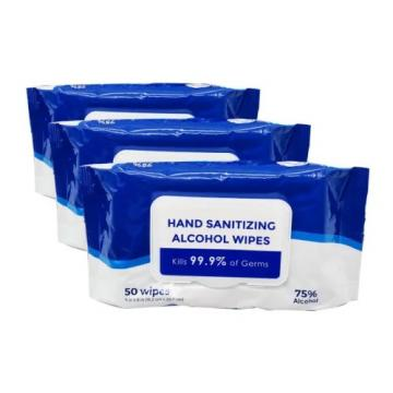 Delian Large Alcohol Free Surface Disinfectant Wipes Dental Product
