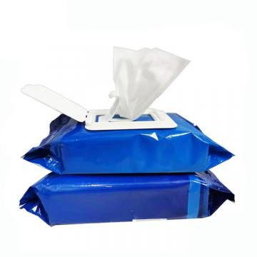 Clean 75% Alcohol Tissue Wipe Plastic Canister Wet Wipe Mini Bucket Hand Sanitizer Wipe