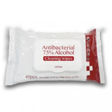 Popular Daily Life Disinfectant Wipe 75% Alcohol Disinfection Pollution-Free Antibacterial Wipes
