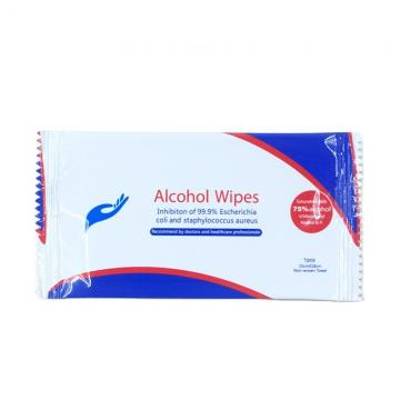 Alibaba select0pcs in bag BZK antibacterial alcohol free disinfectant wipes wet wipes for US/EU market