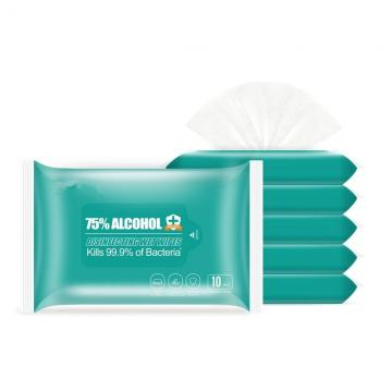 Alcohol Wipes 75% Isopropyl Antiseptic Individually Wrapped The Best Private Label Makeup Remover Wipes
