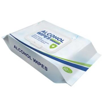 FDA/CE Manufacturer 75% Alcohol Portable Best Quality of Cleaning Wet Wipes Customized Disinfectant Wipes Antibacterial Sterilizing Barrel Wipes