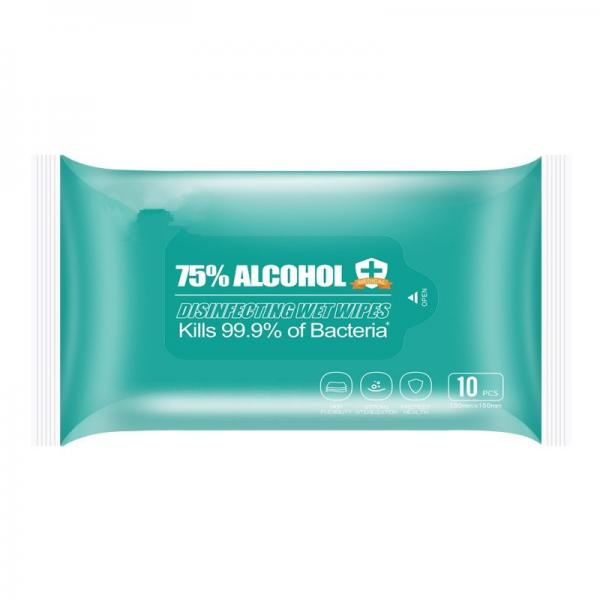 Non Alcohol Antibacterial Surface Disinfection Wet Wipes
