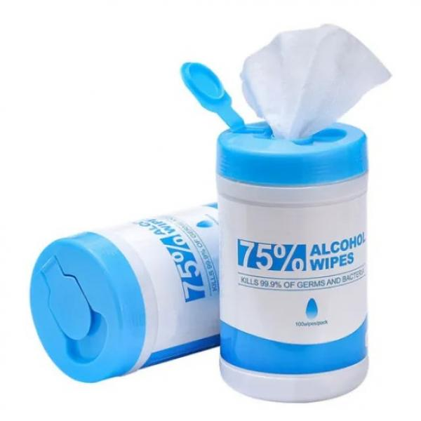 Factory Wholesale 75% Alcohol Sanitizer Wet Disinfectant Hand Wipe Packs